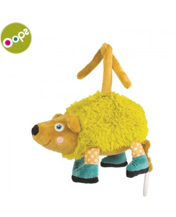 Oops Pic Soft Lovable Carillon Toy with melody for kids from 0m+ (19.3x21x7cm) Colorful 12002.24