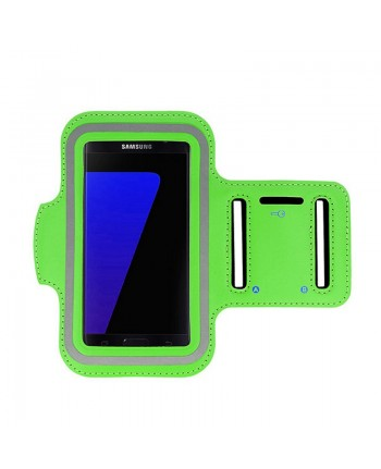 Telone Universal (15x8cm) Armband Pouch Case for Sport - Fitness Running Green