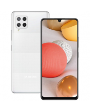 """Samsung Galaxy A42 5G (White) Dual SIM 6.6"""" Super AMOLED 720x1600/2.2GHz&1.8GHz/128GB/4GB RAM/Android 10/WiFi"""