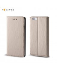 Forever Smart Magnetic Fix Book Case without clip Huawei Y5 Y560 Gold