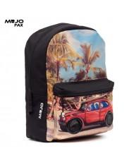 """Mojo """"VW Beetle Speaker BP"""" Backpack with Speakers (43x30x16cm) Multi Color"""
