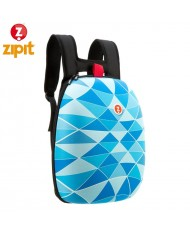 ZIPIT Hard Backpack with organizer inside (41.5x32x16cm) Blue