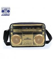 Fydelity Jambox G-Force Shoulder Bag with Speakers (35х20х10cm) Black