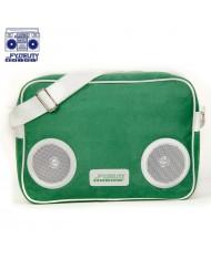 Fydelity Classic G-Force Shoulder Bag with Speakers (35х27х10сm) Green