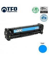 TFO HP CC531A / Canon CRG-718 Cyan Laser Cartridge 2.8K Pages HQ Premium Analog