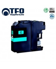TFO Brother LC123С (LC-123C) Cyan INK Cartridge 10ml for DCP-J132W etc HQ Premium Analog