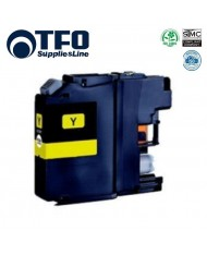 TFO Brother LC123Y (LC-123Y) Yellow INK Cartridge 10ml for DCP-J132W etc HQ Premium Analog