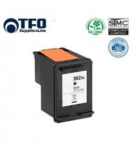 TFO HP 302 XL F6U68AE Black INK Cartridge 17ml for DeskJet 1110 2130 (F6U66AE) etc HQ Premium Analog