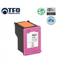 TFO HP 302 XL F6U67AE Color INK Cartridge 15ml for DeskJet  1110 2130 (F6U65AE) etc HQ Premium Analog
