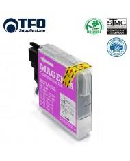 TFO Brother LC1100M / LC980M Magenta INK Cartridge 19ml DCP-385C DCP-145C etc HQ Premium Analog