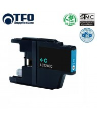 TFO Brother LC1240C Cyan INK Cartridge 12ml DCP-J525W DCP-J725DW etc HQ Premium Analog