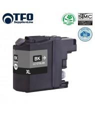 TFO Brother LC127XL (LC-127XLBK) Black INK Cartridge 28ml for DCP-J4110DW etc HQ Premium Analog