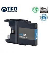TFO Brother LC1280XL-C (LC-1280XLC) Cyan INK Cartridge 19ml MFC-J5910DW etc HQ Premium Analog