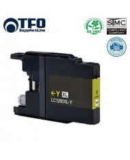 TFO Brother LC1280XL-Y (LC-1280XLY) Yellow INK Cartridge 19ml MFC-J5910DW etc HQ Premium Analog