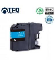 TFO Brother LC525 (LC525XL-C) Cyan INK Cartridge 15ml DCP-J100 DCP-J105 MFC-J200 etc HQ Analog
