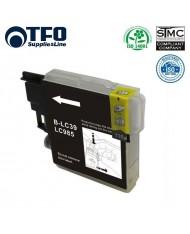 TFO Brother LC985BK (LC-985BK) Black INK Cartridge 25ml DCP-J125 DCP-J140W MFC-J220 etc HQ Analog