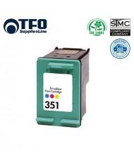 TFO HP 351 XL HPCB337EE 3-Colour INK Cartridge 17ml for DeskJet D4260 J6410 etc HQ Premium Analog