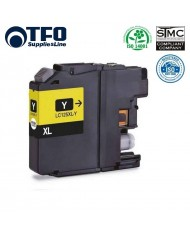 TFO Brother LC125XL (LC-125XLY) Yellow INK Cartridge 15ml for DCP-J4110DW etc HQ Premium Analog
