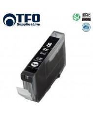 TFO Canon CLI-8BK Photo Black INK Cartridge 14ml for Pixma ip4200 ip5200 MP500 etc HQ Premium Analog