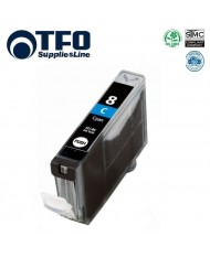 TFO Canon CLI-8C Cyan INK Cartridge 14ml for Pixma ip4200 ip5200 MP500 etc HQ Premium Analog