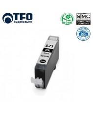 TFO Canon CLI-521BK Black XL INK Cartridge 11ml for Pixma ip3600 etc 2933B001AA HQ Premium Analog