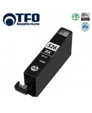 TFO Canon CLI-526BK Black INK Cartridge 12ml for Pixma ip4850MG5150 ix6550 etc HQ Premium Analog