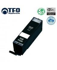 TFO Canon PGI-550PGBK Black XL INK Cartridge 23ml for Pixma ip7250 etc 6496B001 HQ Premium Analog