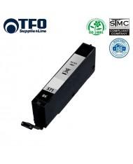 TFO Canon CLI-571BK Photo Black INK Cartridge 12ml for Pixma MG5700 MG6850 etc HQ Premium Analog