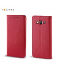 Forever Smart Magnetic Fix Book Case without clip Huawei P9 Lite Mini / Y6 Pro (2017) / Nova Lite (2017) Red