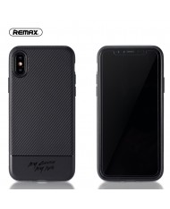 Remax RM-1632 Vigor series perfect protection Back cover case for Apple iPhone X / iPhone 10 / iPhone XS Black