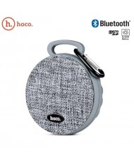 Hoco BS7 Mobu Sports Rubber & Fabric Bluetooth Speaker with Micro SD slot and Hand-Free calls Grey