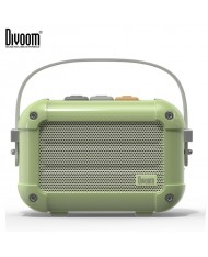 Divoom Macchiato Retro VHS Style 6W DSP Bluetooth Speaker with Incredible Sound + Stylish Carrying Case Green