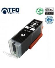 TFO Canon C-580XXLBK (PGI580XXLBK) Black INK Cartridge 27ml for PIXMA TS9155 \ TS8150 \ TS8152 etc Premium Analog