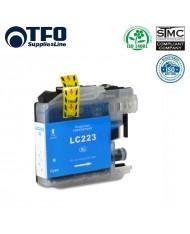 TFO Brother B-223C (LC-223C) Cyan INK Cartridge 10ml for DCP-J4120DW etc HQ Premium Analog