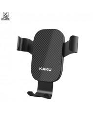 iKaku KSC-256 Universal 360 degree Car Air Vent phone Holder with gravity linkage Black