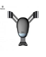 Baseus SUYL-G01 Mini Gravity Universal Car Air Vent Automatic Fixation Holder Black