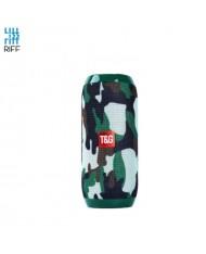 Riff TG117 Universal Wireless BT Waterproof Speaker with AUX / Micro SD / USB Green Comuflage