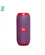 Riff TG117 Universal Wireless BT Waterproof Speaker with AUX / Micro SD / USB Red/Blue