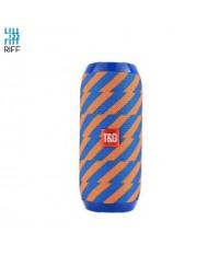 Riff TG117 Universal Wireless BT Waterproof Speaker with AUX / Micro SD / USB Orange/Blue