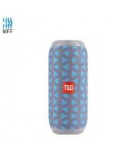 Riff TG117 Universal Wireless BT Waterproof Speaker with AUX / Micro SD / USB Grey/Blue