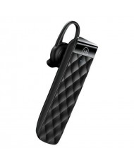 Usams BT1 Multipoint HD Voice Bluetooth 5.0 Ultra-light comfort Design Mono Headset Black