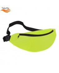 TakeMe Universal Super Spacious Sport & Travel Waist bag with 2 pockets (38x15cm) Green