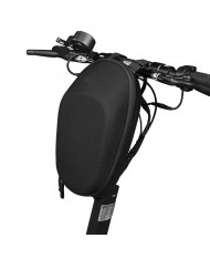 TakeMe Universal Waterproof electric scooter / bike handlebar Bag with zipper (6L) Black (1)