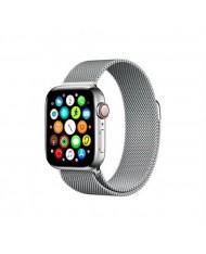 Mercury Elegant Stainless steel bracelet-strap for Apple Watch 4 / 5 / 6 / SE series 44mm Silver