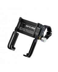 GUB P20 Durable Metal Bike / Moto / Quad steering wheel bandage holder for Smartphone / GPS  5.5-10cm Black
