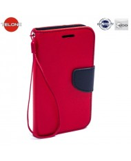 Telone Fancy Diary Bookstand Case Huawei Ascend Y6 II (2016)  Red/Blue