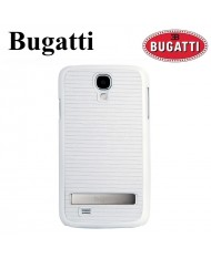 Bugatti BUGBCi9505WH Ultra Slim Back Case with stand Samsung i9505 Galaxy S4 Silver/White