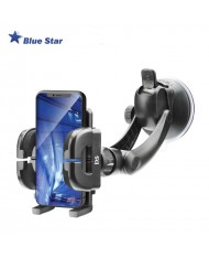 Bluestar (Regular III) Universal (3.8 - 10.7cm Wide fix) GPS/Phone Car window/panel/rest Holder with 15cm Leg