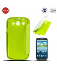 Telone Smart View&Touch Book Case Samsung i9500 Galaxy S4 Green