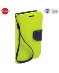 Telone Fancy Diary Bookstand Case LG X Screen K500N Light Green/Blue